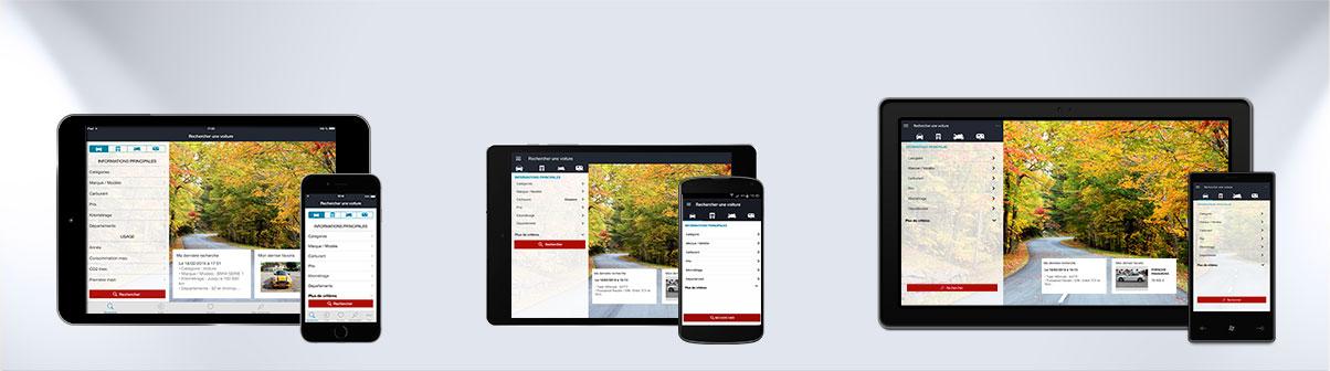 LC D�sormais � port�e de main sur iPhone, iPad et Android !